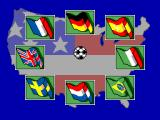 World Cup USA 94 SEGA Master System Select your language