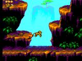 The Lion King SEGA Master System Starting location