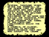 Lord of the Sword SEGA Master System Intro