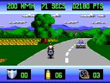OutRun Europa SEGA Master System Damn it! The police!