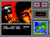 OutRun Europa SEGA Master System Oh no! Arrested!