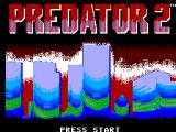 Predator 2 SEGA Master System Title screen