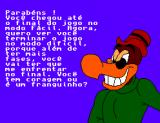 "Férias Frustradas do Pica-Pau SEGA Master System Zeca Urubu (Buzz Buzzard) says ""try the hard mode now""..."