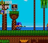 Sonic the Hedgehog: Triple Trouble Game Gear Stage 1, Running At Speed