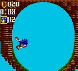 Sonic the Hedgehog: Triple Trouble Game Gear Loop The Loop