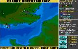 Their Finest Hour: The Battle of Britain Amiga The flight briefing map
