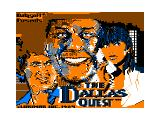 The Dallas Quest TRS-80 CoCo Graphical splash/title screen