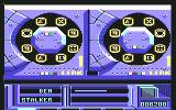 The Running Man Commodore 64 The satellite link minigame.