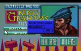 Crazy Nick's Software Picks: King Graham's Board Game Challenge DOS Starting a new player.