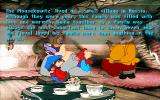 An American Tail: The Computer Adventures of Fievel and His Friends DOS Introduction