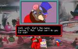 An American Tail: The Computer Adventures of Fievel and His Friends DOS Close-ups in conversation