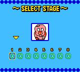 Columns GB: Tezuka Osamu Characters Game Boy Color Set up puzzle mode