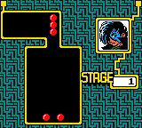Columns GB: Tezuka Osamu Characters Game Boy Color Playing in puzzle mode