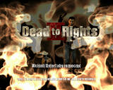 Dead to Rights II Windows Title screen