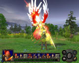 Heroes of Might and Magic V: Hammers of Fate Windows Fallen Angel vs. Hunter.