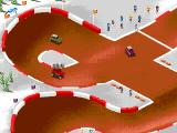 "Super Skidmarks Genesis A busy intersection on ""Winter Series"""