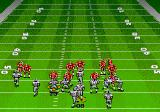 Madden NFL '94 Genesis Defending against a rushing play