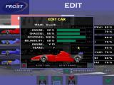 Prost Grand Prix 1998 DOS While only Prost is licensed, players can rename all teams and define how good each car is