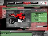 Moto Racer 3 Windows Selecting a machine (for grand prix)