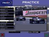 Prost Grand Prix 1998 DOS Choosing a circuit