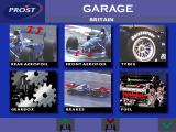 Prost Grand Prix 1998 DOS A few car settings can be tweaked