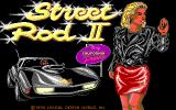 Street Rod 2: The Next Generation DOS Title screen