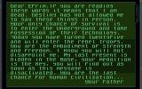 Black Viper Amiga You discover a message from your dead father