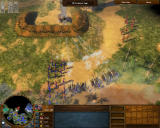 Age of Empires III: The WarChiefs Windows Attacking the redoubt cannon.