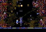 Xenon 2: Megablast Genesis Enemies are also harder to spot, as the colour palette of the console is more limited.