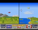 Dogfight Amiga The yellow player is hunted by a German U-boat