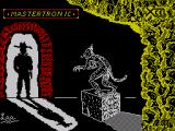 How to be a Hero ZX Spectrum Loading screen