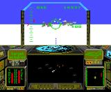 Strike Force Harrier MSX Two enemy planes sighted (MSX2)