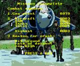 Strike Force Harrier MSX Combat summary (MSX2)