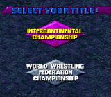 WWF WrestleMania Genesis The IC is easier, while the WWF Championship starts right with handicap matches