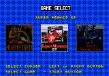 Mega Games 6 Vol. 2 Genesis Game selection screen