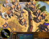 Age of Empires III: The WarChiefs Windows A thriving city