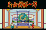 Konami Collector's Series: Arcade Advanced Game Boy Advance Yie Ar Kung-Fu - title screen.