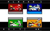 Grand Prix 500 2 Amstrad CPC Bike Selection for Player...