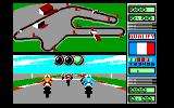 Grand Prix 500 2 Amstrad CPC At the Start (1-Player Mode)...