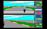 Grand Prix 500 2 Amstrad CPC Practicing (2-Players Mode)...