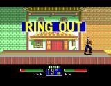 Virtua Fighter Animation SEGA Master System Falling out of the ring makes the fighter loose that round.