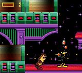 Taz in Escape from Mars Game Gear Daffy Duck again...