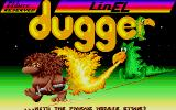 Dugger Atari ST Title screen