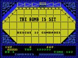 Alien Syndrome MSX The bomb is set