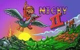 Nicky 2 DOS Title Screen