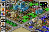 SimCity 2000 Game Boy Advance A thriving city.