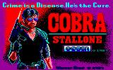 Cobra Amstrad CPC Title Screen