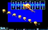 Bactron Amstrad CPC Title Screen