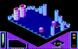 Bactron Amstrad CPC Another blue viruses takes your energy out and this event kills you...