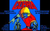 Cobra Amstrad CPC Loading screen